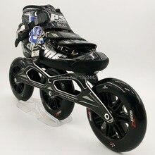 Original powerslide C6 speed skating shoes Professional adult child roller skates with 120mm wheel inline skates wheels