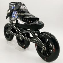 Original powerslide C6 speed skating shoes Professional adult child roller skates with 120mm wheel inline skates