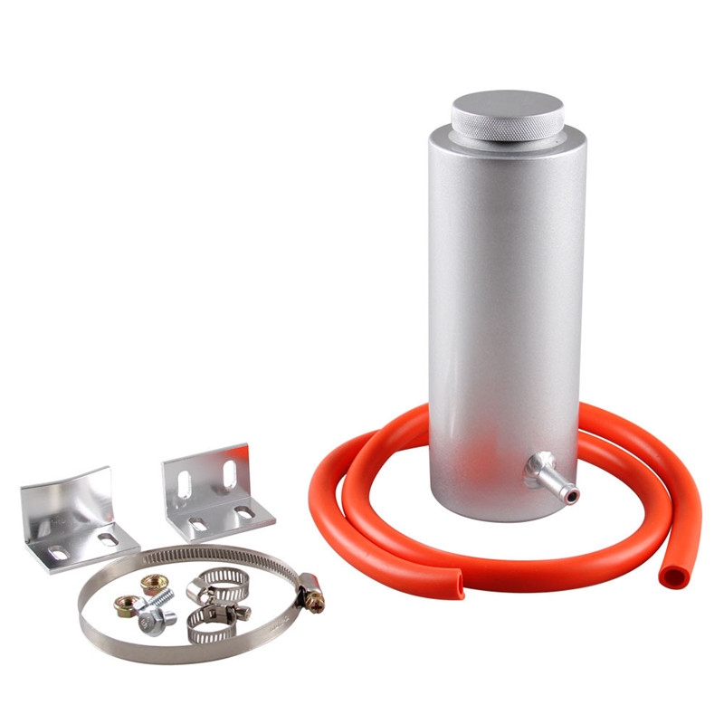 00ML Cylinder Radiator Overflow Reservoir Coolant Tank Universal Can Black Blue Red Purple Silver HY010 in Fuel Tanks from Automobiles Motorcycles