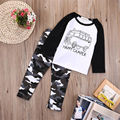 REINO UNIDO 2 unids Newborn Infant Toddler Kids Ropa Del Bebé de La Camiseta Tops + Pants Conjuntos
