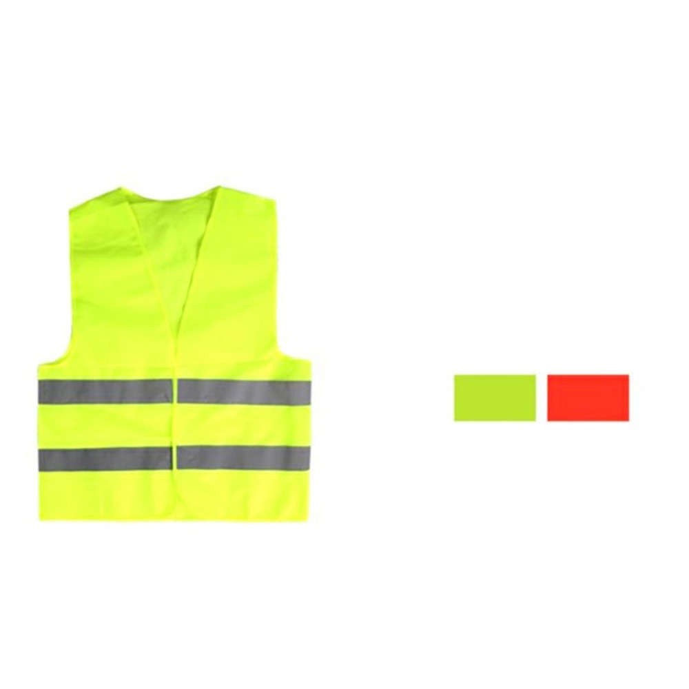 Image 3 - Yellow Reflective High Visibility Safety Vest Men & Women Work Cycling Runner Surveyor Volunteer Crossing Guard Wear-in High Visibility Jackets from Automobiles & Motorcycles
