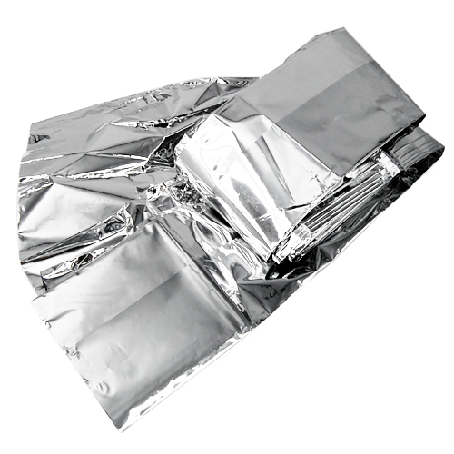 10 PCS FOIL SPACE <font><b>BLANKET</b></font> EMERGENCY SURVIVAL <font><b>BLANKET</b></font> - 160 X 210cm