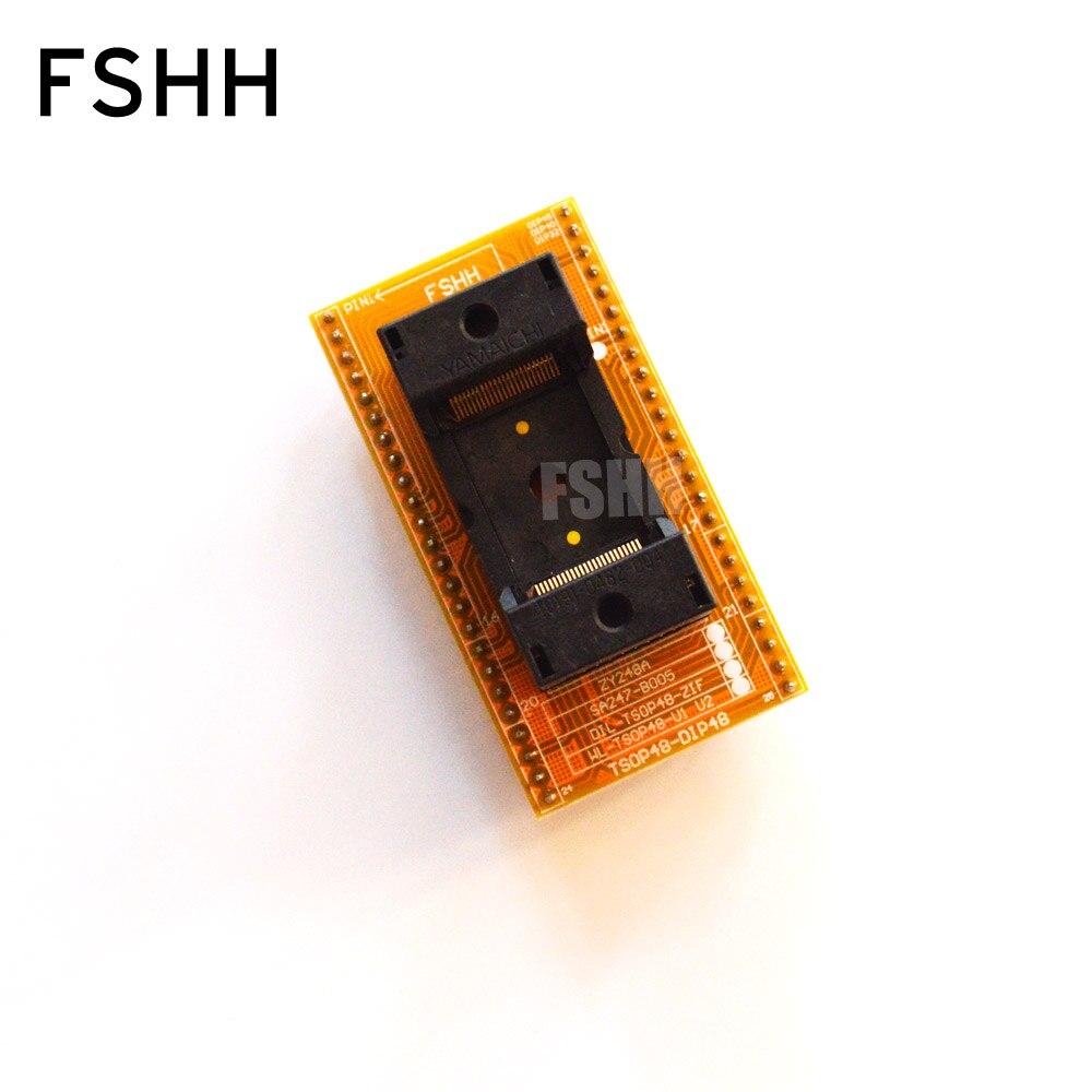 SA247-B005 Xeltek Programmer Adapter TSOP48-DIP48/Flash Test Program The Adapter Seat (IC191-0482-004) High-quality