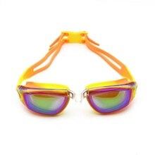 f3790ef095 Swimming goggles Child Teenager Anti-Fog professional Waterproof silicone  arena Pool swim eyewear Swimming glasses