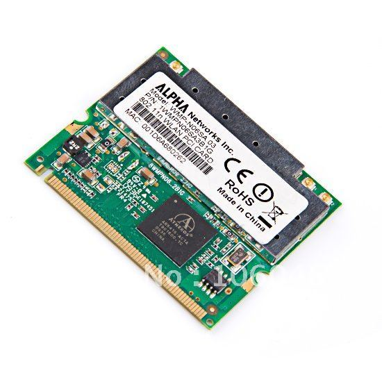 NEW Atheros AR5416 Mini PCI ABGN 801.11N WIFI Wireless Card AR5008 802.11a/b/g/n 300Mbps (10836)