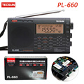 Tecsun PL-660 Digital Radio Portable PLL SSB VHF AIR Band Radio Receiver FM/MW/SW/LW Radio Multiband Dual Conversion