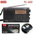 Tecsun PL-660 Radio Digital Portátil VHF AIRE SSB PLL Receptor de Radio de Banda FM/MW/SW/LW Radio multibanda de Doble Conversión