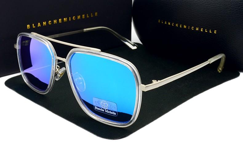 a71338e6b54 Hot Sale Rectangle UV400 Polarized Sunglasses Men Women Luxury Brand  designer 2017 New Pink Coating Sun Glasses Male sunglass