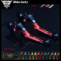 Riderjacky Red+Black For Yamaha FZ1 FAZER FZ 1 2006 2015 2013 2014 Adjustable Folding Extendable Motorcycle Brake Clutch Levers