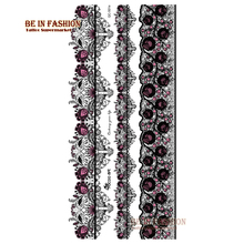 1sheet Temporary Fake Tattoo Leg Portion Sexy Stockings Lace Tattoo Stickers Black Henna Design Tattoo Paste Trendy Tatoos Arm