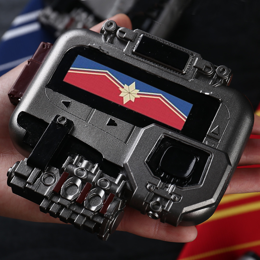 New Avengers Endgame Captain Marvel Cosplay Beeper Pager PVC Material Props Halloween Party Cosplay Props Harley-Davidson Sportster