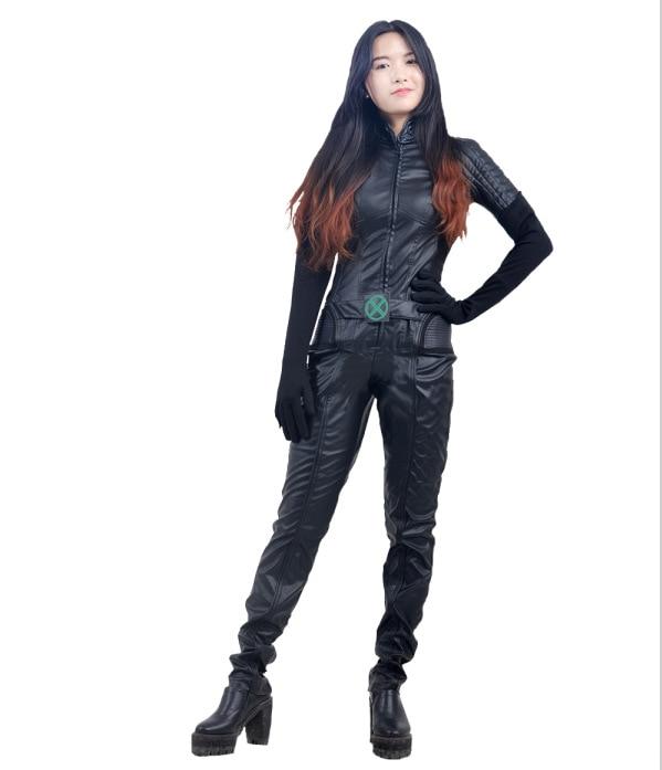X,Men Rogue cosplay halloween costumes(China (Mainland))