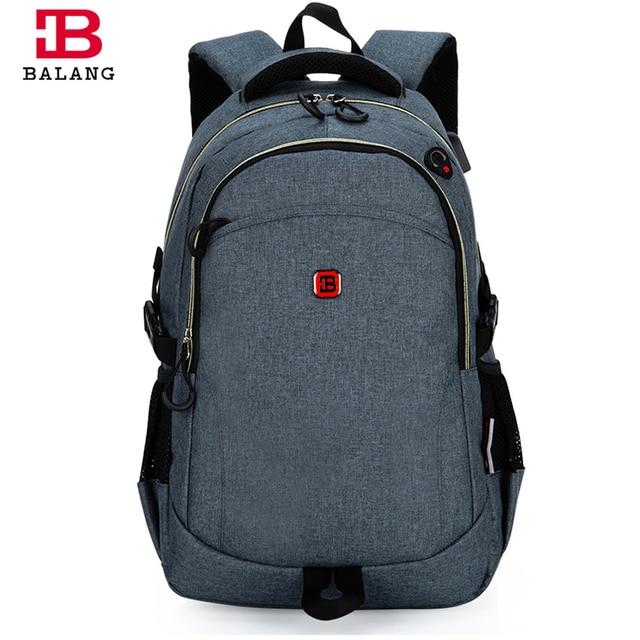 7334286235b Balang merk populaire schooltassen voor tieners jongens hoge kwaliteit  laptop rugzak voor mannen vrouwen unisex casual