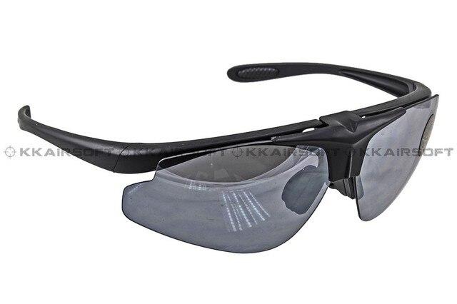 Armée lunettes de sport noir PlPAo2
