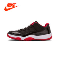 Original New Arrival Authentic Nike Air Jordan11 Retro Low Bred AJ11 Mens Basketball Shoes Sneakers Sport Outdoor Good Quality