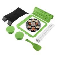 DIY Roll Sushi Mold Form Gesetzt Kochen Werkzeuge Home Küche Abendessen Gesunde Sushi Maker Kit Reis Formenbau Set