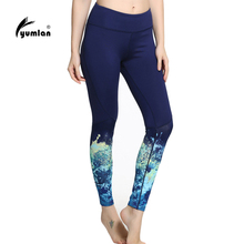 Sex High Waist Stretched Sports Pants Gym Clothes Spandex Running Tights Women Sports Leggings Fitness Yoga Pants