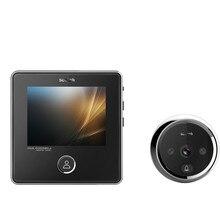 3.0 inch TFT LCD Screen Night vision Smart Door Bell Digital Peephole Viewer 120 Degree Door Peephole Camera With Memory Card