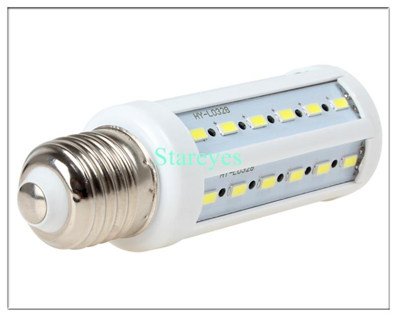 100 шт 12 W 42 светодиодный 5630 5730 SMD E27 E14 B22 светодиодный кукурузы светодиодная лампочка(кукуруза) Кукуруза лампы освещения Теплый/Холодный белый