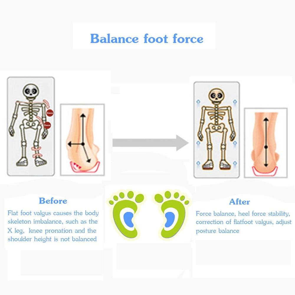Soumit niños Gel Orthotic plantillas ortopédicas para niños zapatos ...