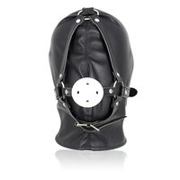 Adjustable 96Ball Mouth Gag Fetish PU Leather Harness BDSM Bondage Harness Gag Gay Mask Adult Sex SM Men Women Party Sexy Masks