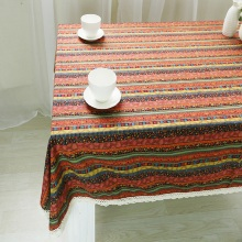 Home textile cotton linen tablecloth ethnic Bohemian the table cloth cover towel