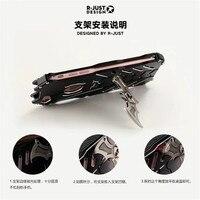 R JUST For Huawei Mate 10 Case Luxury Doom Armor Dirt Shock Anti Knock Metal Aluminum