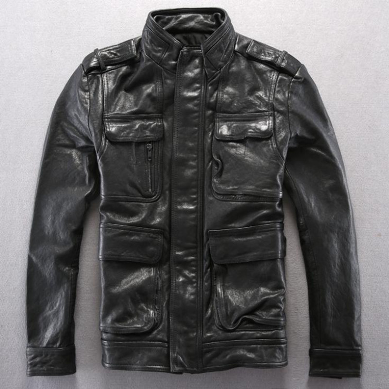 Alpha leather jackets