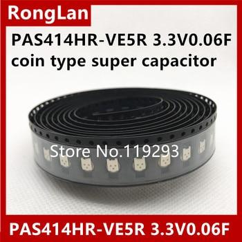 [BELLA]PAS414HR-VE5R 3.3V0.06F coin type super capacitor TOWA Leave PAS--50pcs/lot
