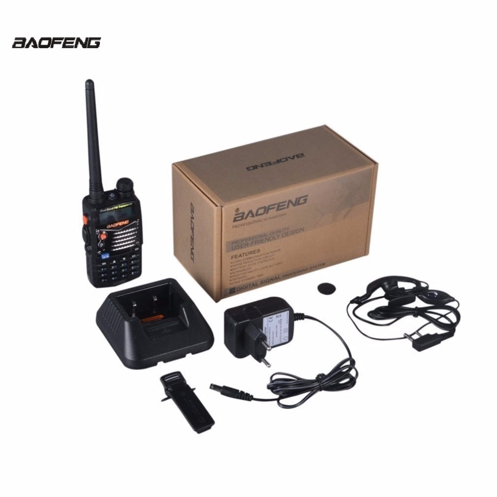 Baofeng Uv 5rd Walkie Talkies Scanner Radio Dual Band Cb Handy Ht Uv5r Talkie Bf 5ra Professional Hand Held Transceiver Fm Receiver 10km