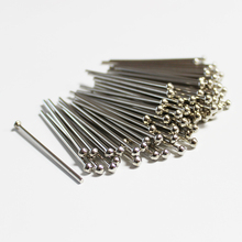 Chrome plated rivets for car body dent repair puller mini uni spotter welder machine accessories 2.0x50mm spot welding draw pins 11pcs dent puller kit spot welding tri hook washer pads with brass holder chuck for automotive car body repair spotter hand tool