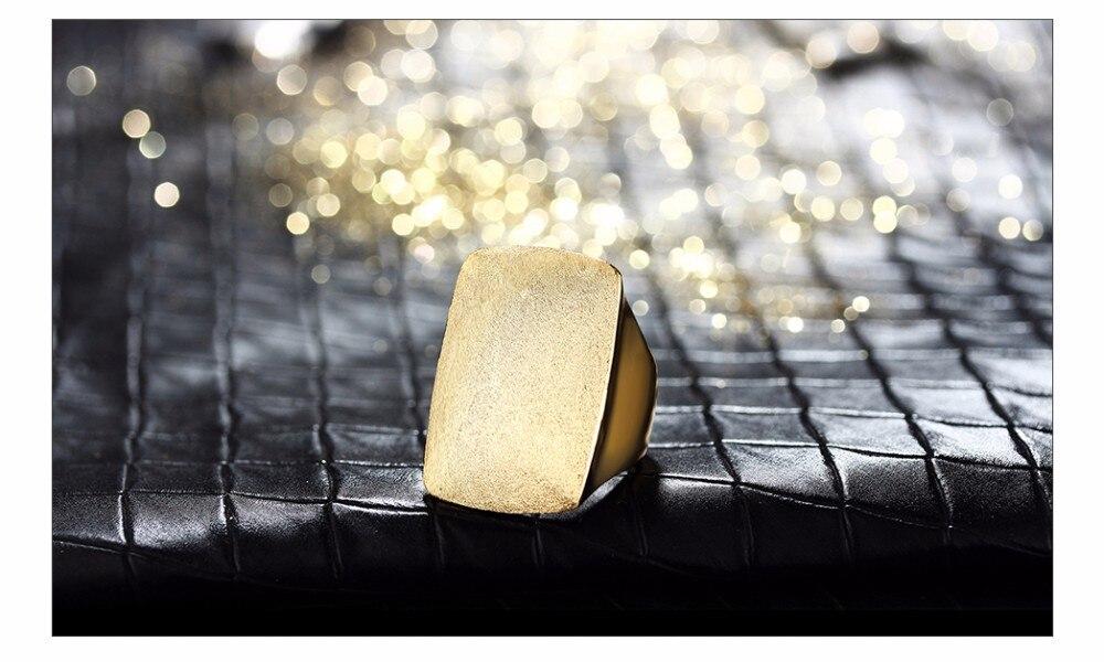 خاتم Viennois باللون الذهبي للمناسبات 8
