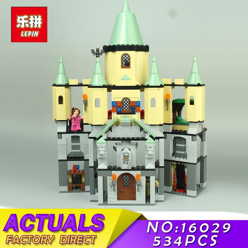 Magic Hogwort Castle Set LEPIN 16029 1033Pcs Movie Series Children Educational Building Blocks Bricks Kids Toys Model Gift 5378