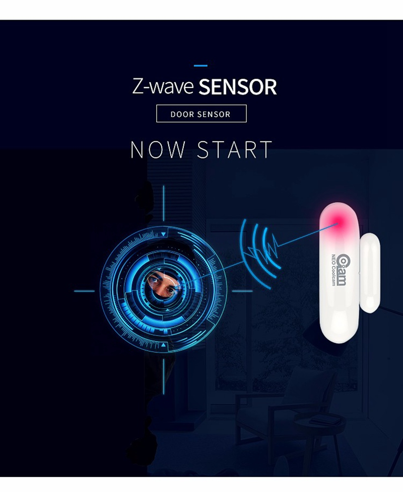 Home Automation Kits Neo Coolcam Z-wave Door Window Sensor Compatible With Z Wave 300 500 Series Magnet Lock For Door Sensor Alarm Smart Home Tracker Last Style