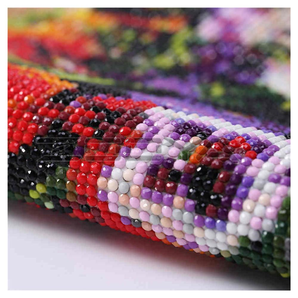 5D DIY Diamond Painting Cross-Stitch Kits Diamond Embroidery Flamingo Rhinestone Painting Mosaic Pictures Home Decor Gifts R1309