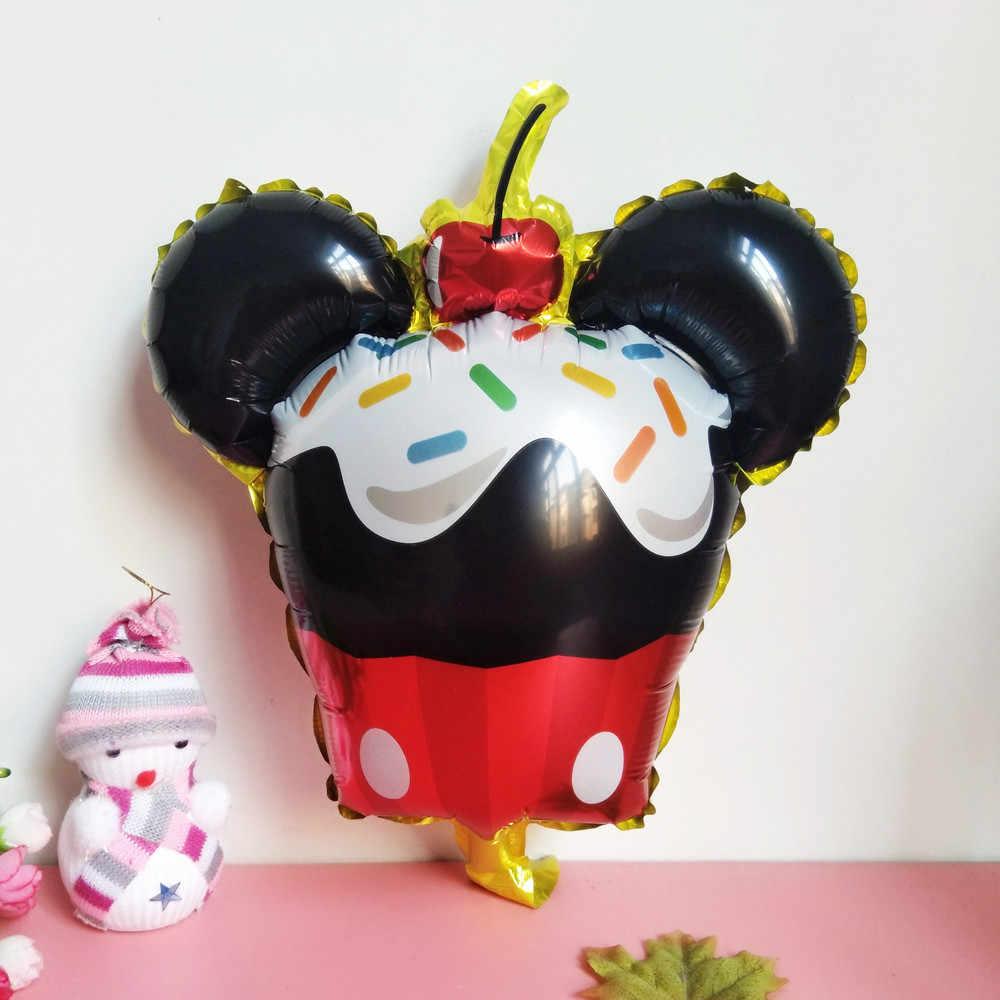 XXYYZZ חמוד מיקי מיני בלוני מיני מיקי מיני ראש רדיד בלוני תינוק מסיבת יום הולדת חתונת דקור אוויר מתנפח Globos