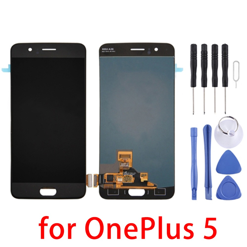 5.5 for OnePlus 5 LCD Screen and Digitizer Full Assembly5.5 for OnePlus 5 LCD Screen and Digitizer Full Assembly
