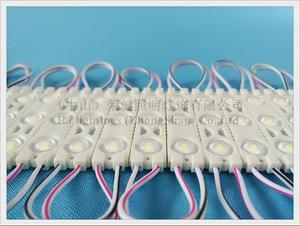 Image 2 - HA CONDOTTO il modulo iniezione DC12V 1.2W 3 LED 150lm 60 millimetri * 13 millimetri di alluminio PCB super HA CONDOTTO il modulo luce per il segno 3 anni di garanzia di alta luminoso