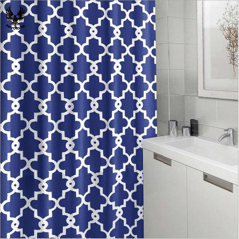 2017 Hot Fashion Waterproof Shower Curtain 180cmx180cm