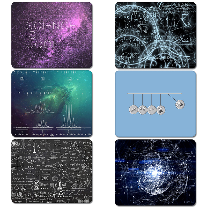 Astronomy of Science Elements Design Nature Rubber Table Mouse Pad Laptop Computer Enclosure Mousepad Mat image