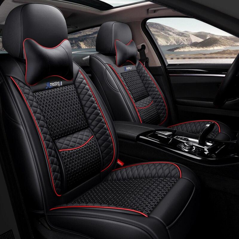 Car Seat Cover Car Styling For BMW F10 F11 F15 F16 F20 F25 F30 F34 E60