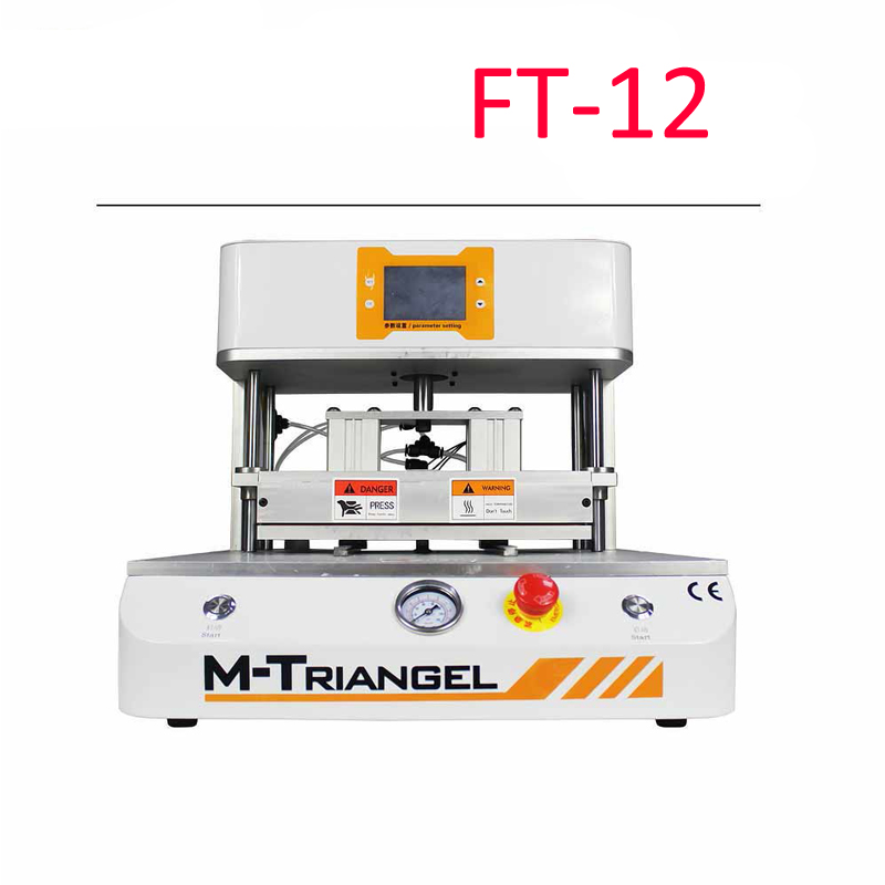 7inch KO No.1 MT-07 Universal 12inch FT-12 OCA Film Lamination Machine need Air Compressor and Vacuum Pump Bubble Remover 7inch ko no 2 mt oca vacuum laminating machine lcd screen press lamination for sumsung s8 edge for iphone x broken glass repair