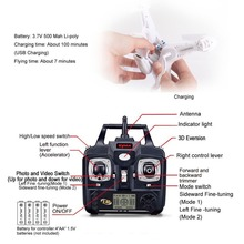 Wind-Resistant 6-Axis Gyro RC Quadcopter with 2MP HD Camera