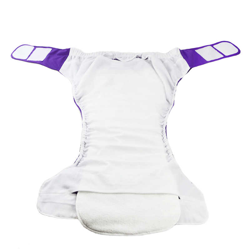 3 ชิ้น/ล็อต 3 ชั้นไม้ไผ่แทรกล้างทำความสะอาดได้คุณภาพแทรก Boosters Liners สำหรับผ้าอ้อมเด็กทารกผ้าอ้อม