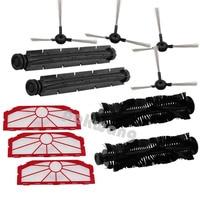 For XR510 Wheels For Robot Cleaner Including Side Brush X 4pcs Rubber Brush X 2pcs