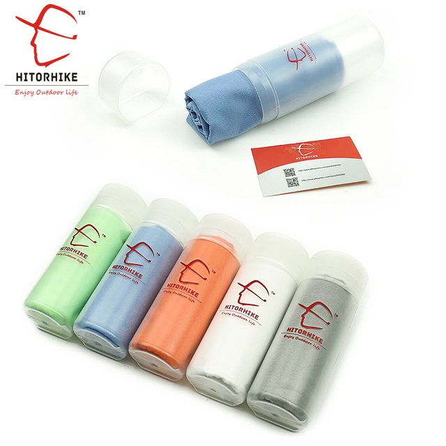 Hitorhike Microfiber Ultralight Compact Quick Drying Towel Camping Hiking Swimming  Sports Hand Face Towel Outdoor Travel Kits