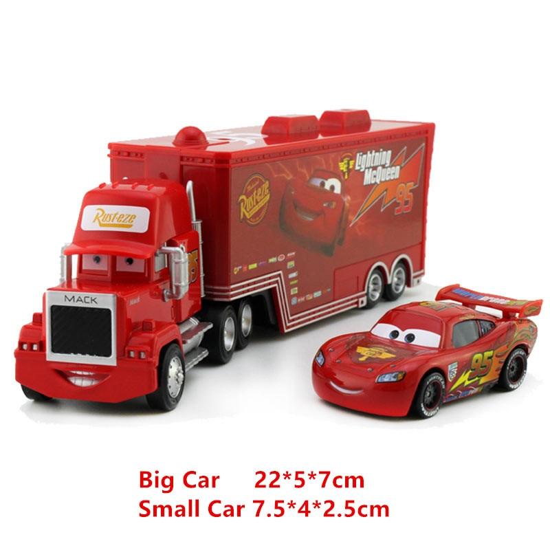 Disney Moulé Styles Sous Métallique Cars Alliage Plastique 21 55 Pression Jouets Mack CamionPetite Et 1 Modèle Pixar Mcqueen Voiture rdhtxsQC