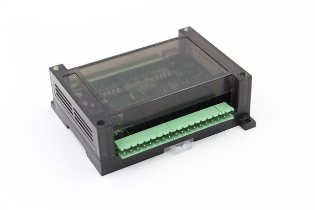 Новый FX1N FX2N 22MR ПЛК Модуль контроллера доска 12DI 10DO RS232 RS485 modbus rtu мастер раб
