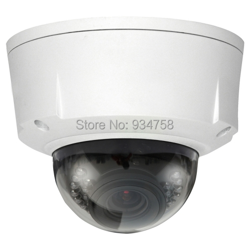 3 0 Megapixel Full HD 2 7 12mm Vari focal Vandal proof Network IR Dome Camera