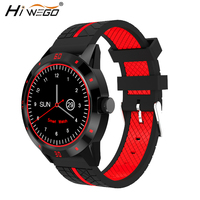 N6 Smart Watch reloj Monitores push mensaje recordatorio de llamada mp3 Bluetooth smartwatch deporte podómetro reloj